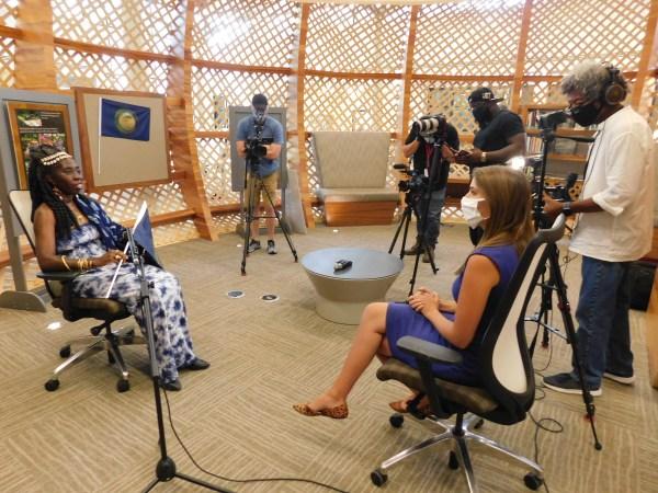 WTOC-TV Interviews Queen Quet