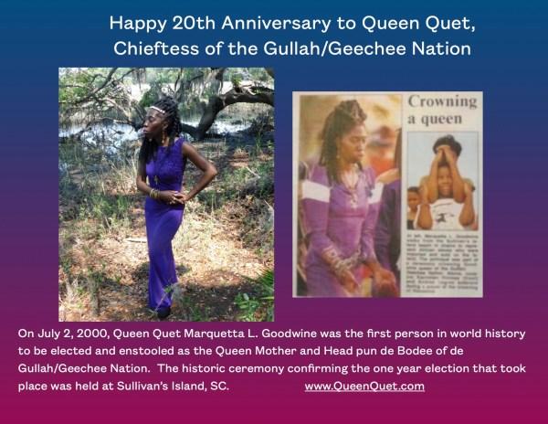Queen Quet 20th Anniversary