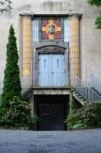 Leichenhalle, St.Pauli-Friedhof, jugendstil, Nikkor. Byggd 1909, ritad av arkitekterna Schilling & Gräbner.