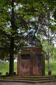 Sowjetdenkmal, Freiberg, Nikkor.