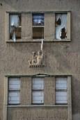 Detalj från Sachsenbads fasad, Nikkor.