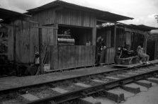 Järnvägskafét i San Cipriano, Summaron 35 mm.