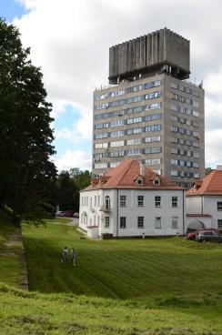 Utsikt från Västra vallarna.