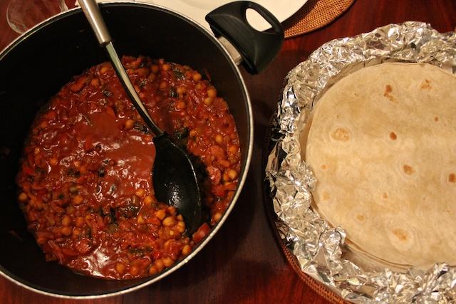 Chili på tortillalefser er dobbeltgodt!