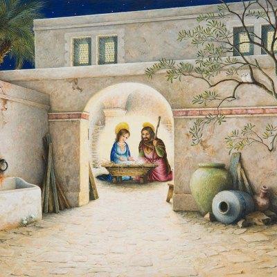 Nativity por Lynn Bywaters