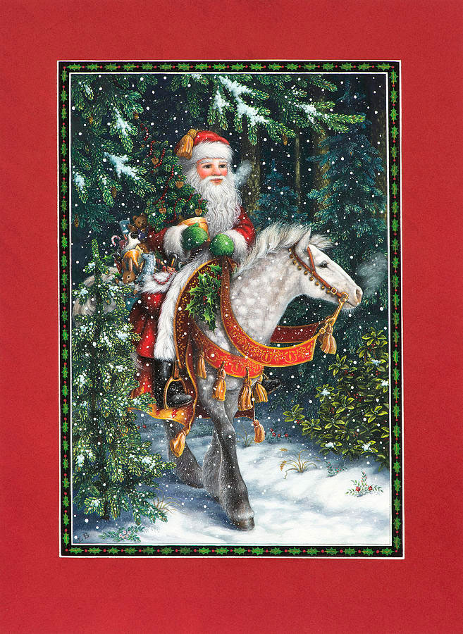 Santa of the northern forest por Lynn Bywaters