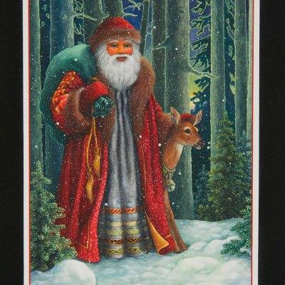 Santa's journey por Lynn Bywaters