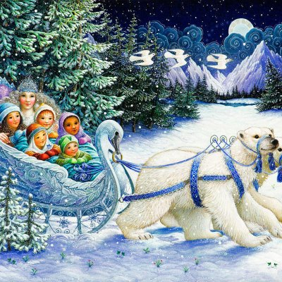 The snow queen por Lynn Bywaters