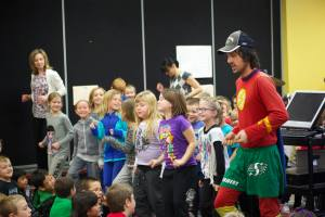 Jamie Mcdonald at Gull Lake School