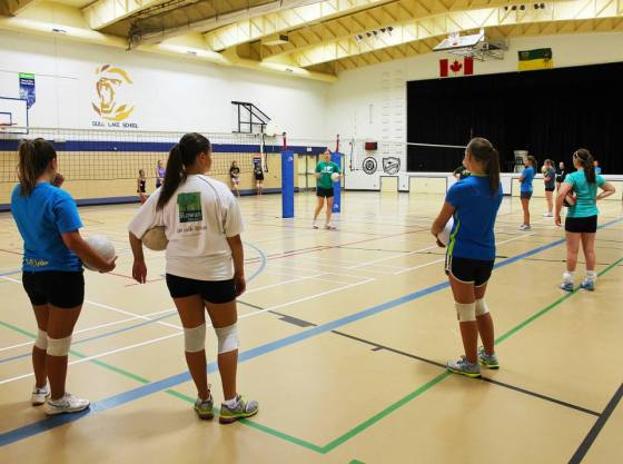 Gull Lake Volleyball Camp 2015 GULL LAKE Health & Wellness  Gull Lake School Events Community