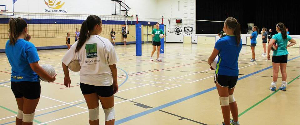 The Gull Lake Junior Volleyball Camp is Back GULL LAKE Health & Wellness  Community