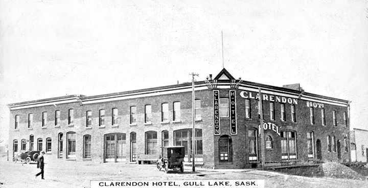 Clarendon Hotel Fire in Gull Lake Business GULL LAKE  Community