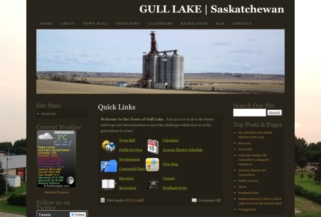 Town of Gull Lake Directory Update Business GULL LAKE  Small Business