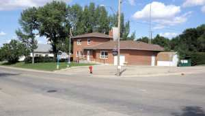 RCMP Station Gull Lake, Sask