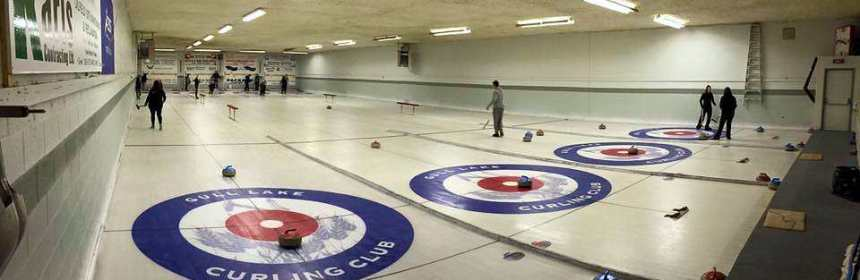 Volunteers Ready Curling Rink for 2017/18 Season GULL LAKE  Volunteers Gull Lake Curling Rink