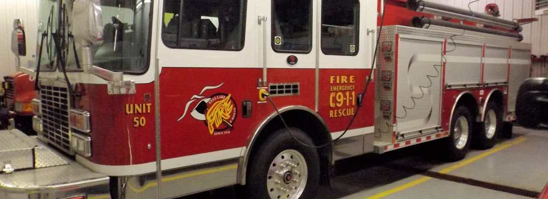 Local Fire Chief gearing up for Fire Prevention Week GULL LAKE  Gull Lake Fire Department Community