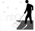 Town Implements Early Snow Removal Reminder GULL LAKE  Snow Clearing