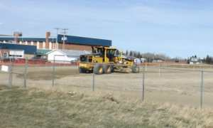 Construction of Gull Lake School Track and Field Project