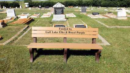 Gull Lake Cemetery Improvements Continue Government GULL LAKE Town Beautification  Town Council Mayor's Report Gull Lake Cemetery Committee