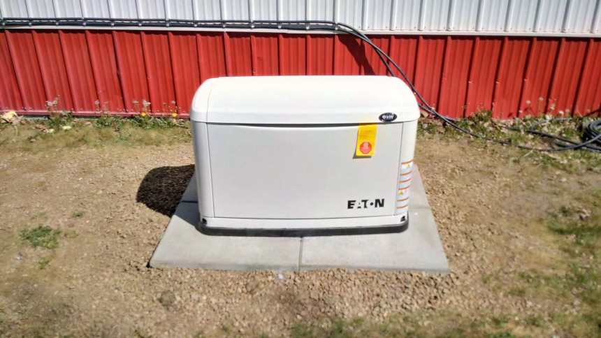 New Generator Installed at the Gull Lake Emergency Services Hall Government GULL LAKE  Mayor's Report Gull Lake Fire Department Gull Lake Fire Board Gull Lake Ambulance Service Emergency Services Building