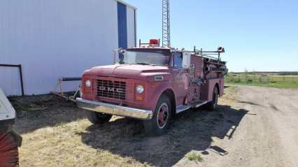 Town of Gull Lake 1969 GMC/ Lafrance Pumper For Sale By Tender GULL LAKE