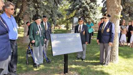 "The ""Captain Keith Mirau Day"" Ceremony at the Gull Lake Cenotaph Government GULL LAKE  Town Council Mayor's Report Gull Lake Legion Events"