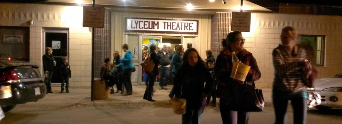 Dead Prairies Productions Double Feature Raises $1,100.00 Business GULL LAKE  Small Business Gull Lake Lyceum Theatre Community
