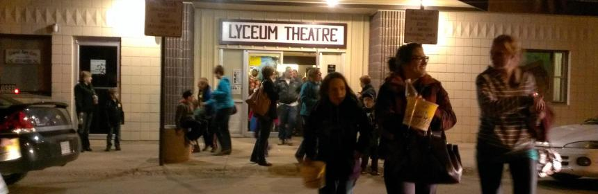 Dead Prairies Productions Double Feature Raises $1,100.00 Business GULL LAKE  Small Business Gull Lake Lyceum Theatre