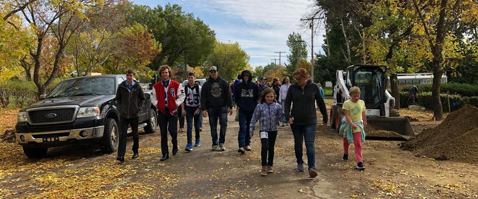 Terry Fox Run Raises $3,683.00 GULL LAKE  Gull Lake School Community