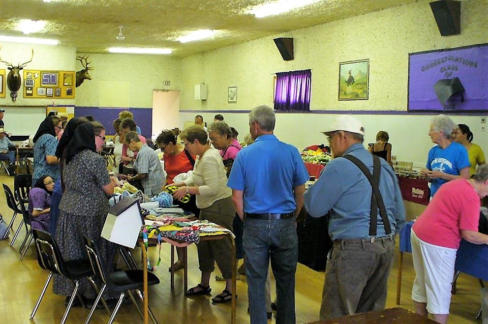 Spring Market at the Elks Hall