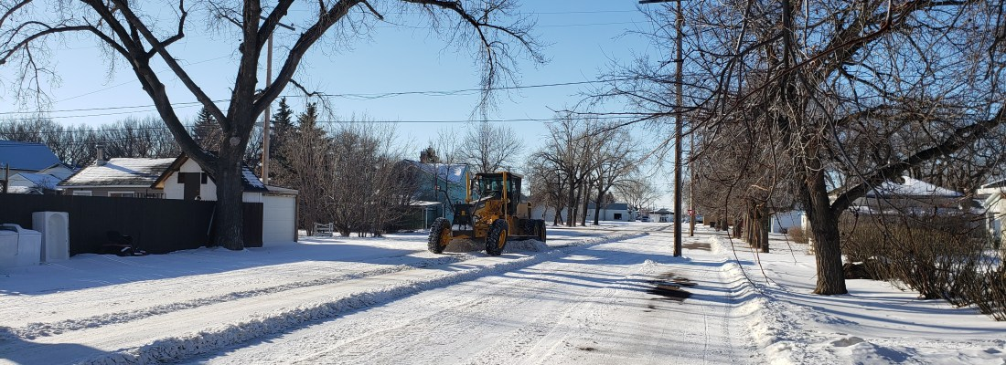 Snow Removal Update GULL LAKE  Community