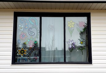 Jessica and Carter Bleau Social Distancing Together Art Walk Champions GULL LAKE Health & Wellness Town Beautification  Covid-19 Community