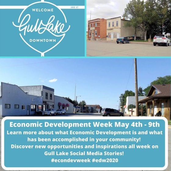 Economic Development Week is May 4th to 9th Business Economic Development GULL LAKE  Small Business