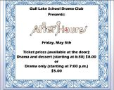 Gull Lake School Play