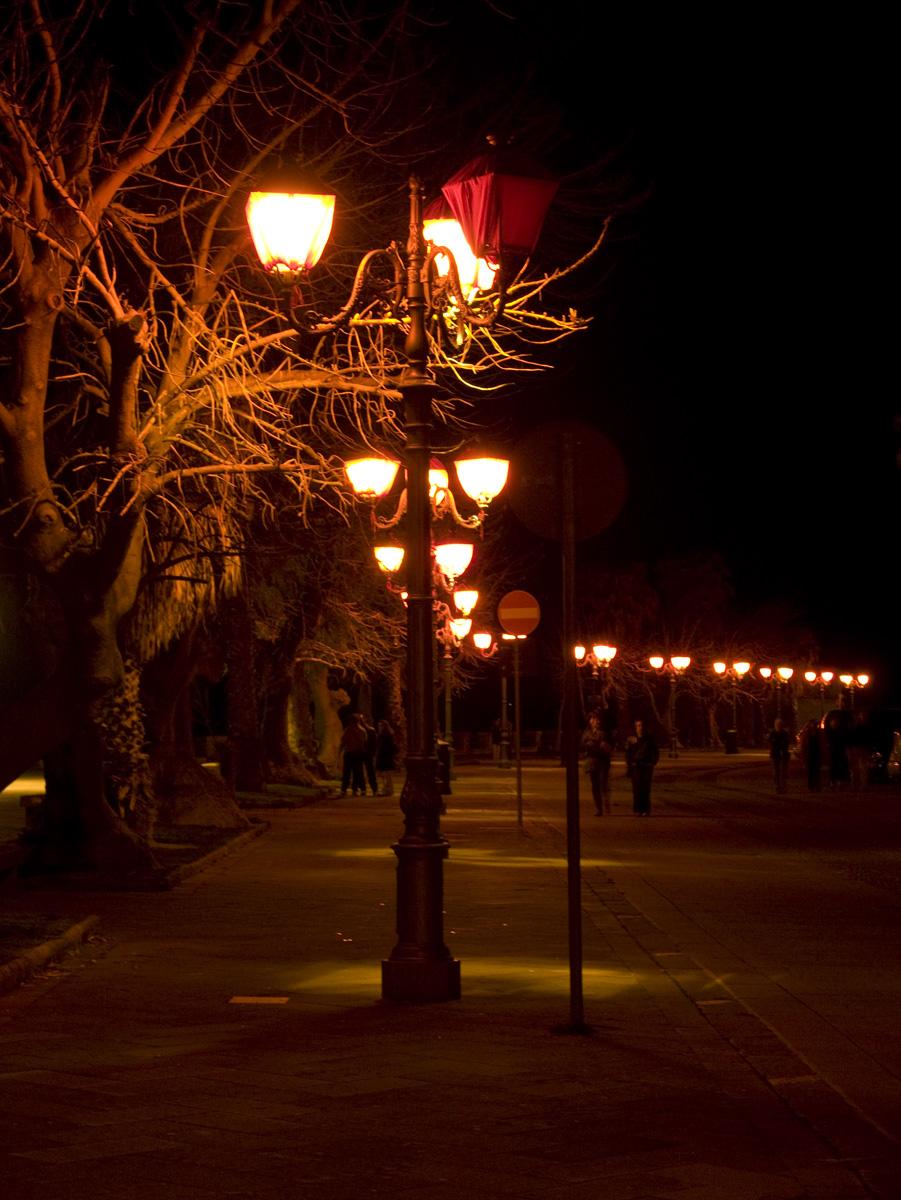 Påskbelysning i Alghero