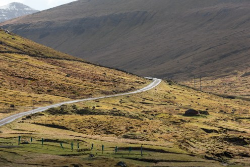 Vägen från Gjógv