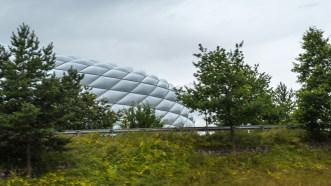 Det enda jag såg av Allianz Arena