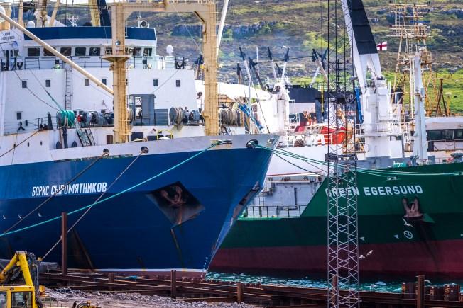 Murmansk-fiskare