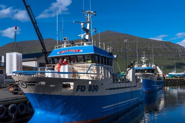 Fiskare i Leirvík (uttalas löuikk)