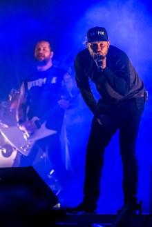 Danska horrorcore-rapparna Suspekt festade