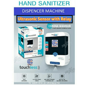 touchless hand sanitizer dispancer