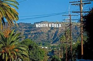 north korea hollywood sign