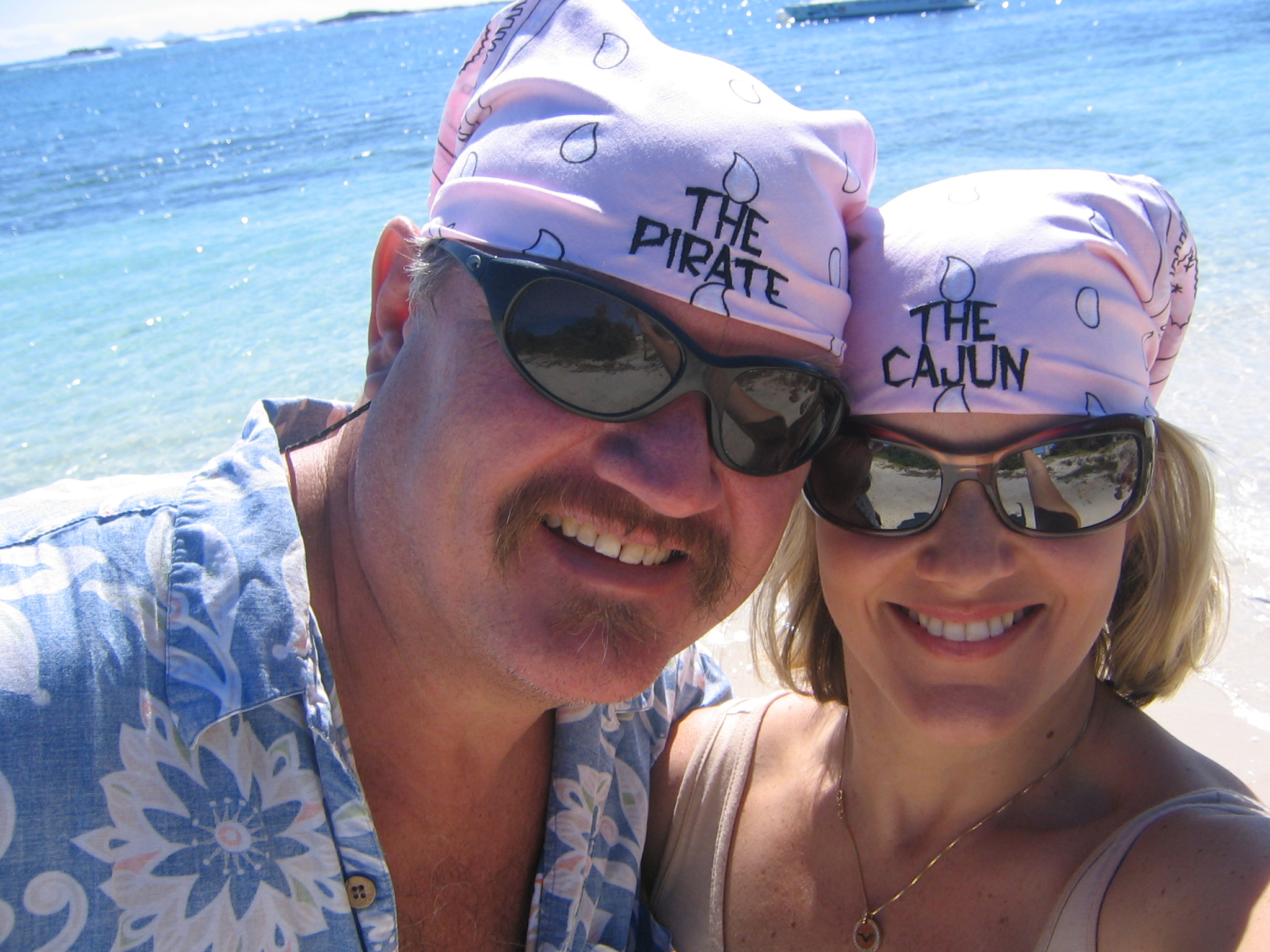 The Pirate and the Cajun at Embouchere Bay