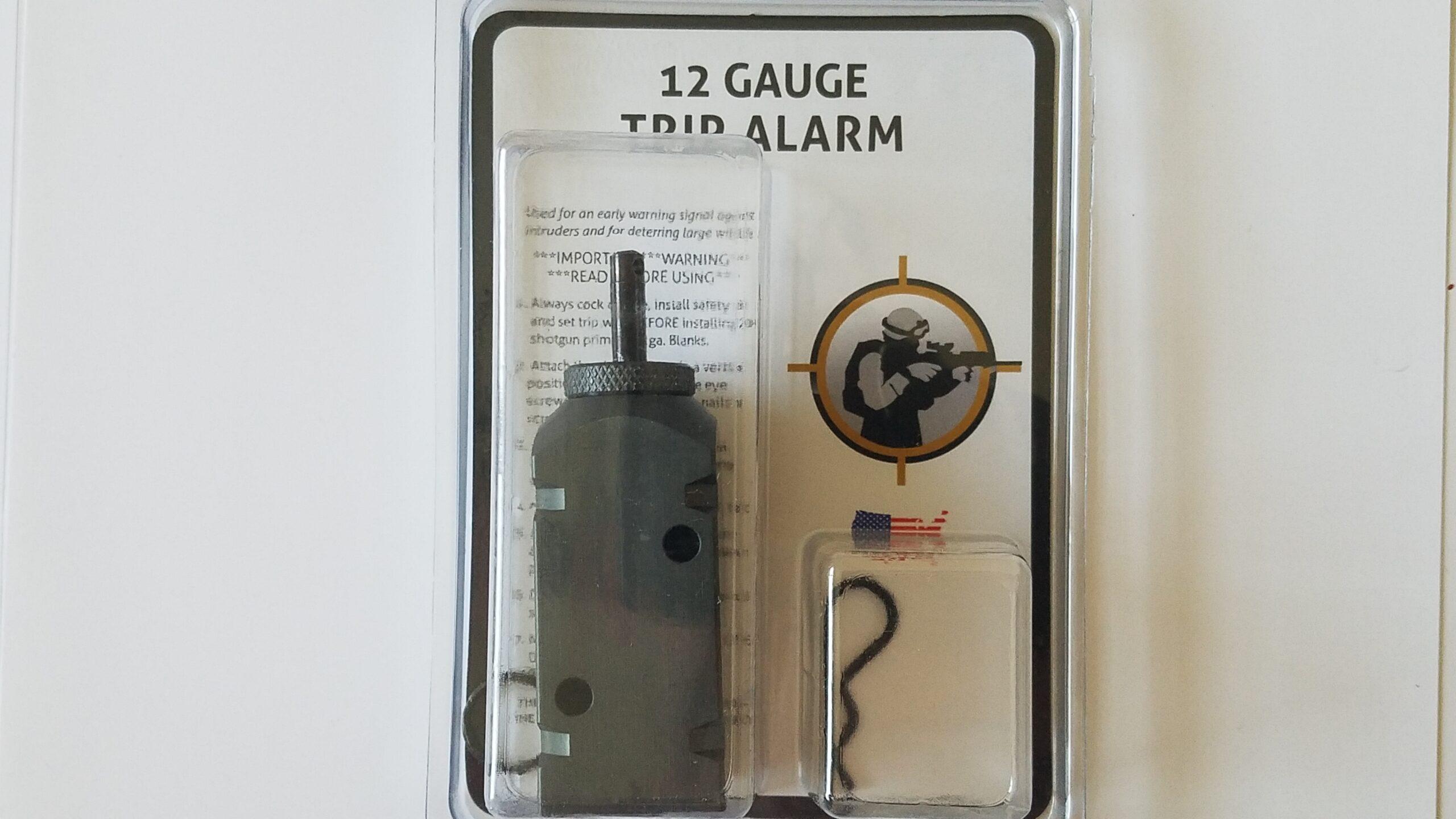12 Gauge Perimeter Trip Alarm