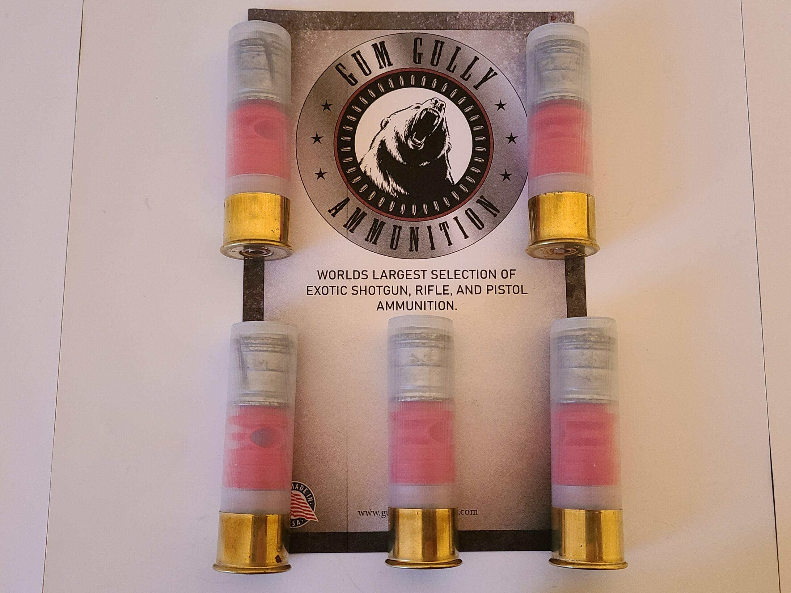 12 Gauge 3 Magnum 1 3 8 Oz Dgs Thunderbolt Slug Gum Gully Provision