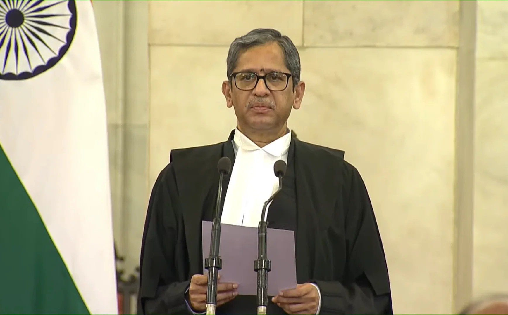 Justice NV Ramana sworn in as the 48th Chief Justice of India