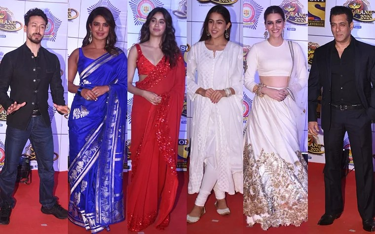 Stars Shine With New Fashion Statements In Umang-2020