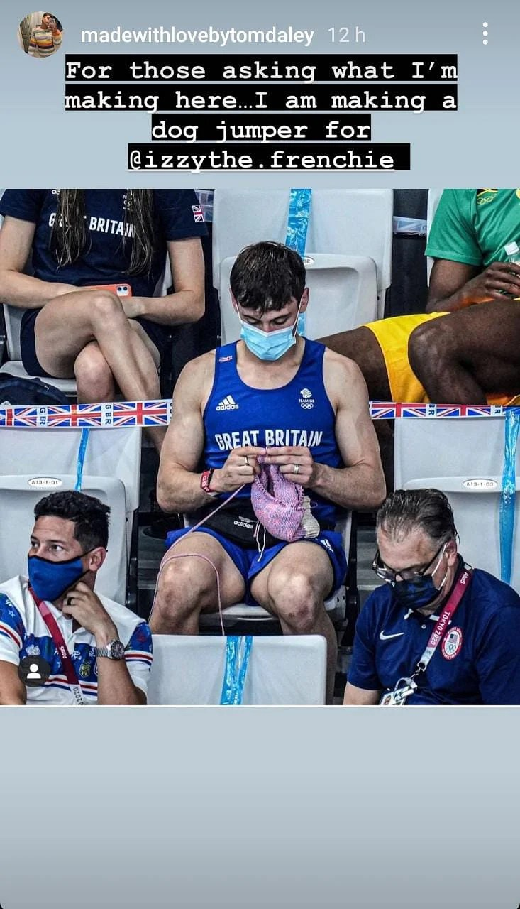From breaking stereotypes to raising donations- here's why Olympic champion Tom Daley's knitting is charming netizens