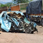 Two dead, another injured in truck-car collision inside Chenani-Nashri Tunnel 💥😭😭💥