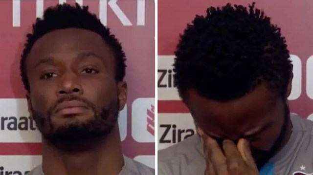 Mikel Obi Breaks Down In Tears During Interview After Racist Abuse